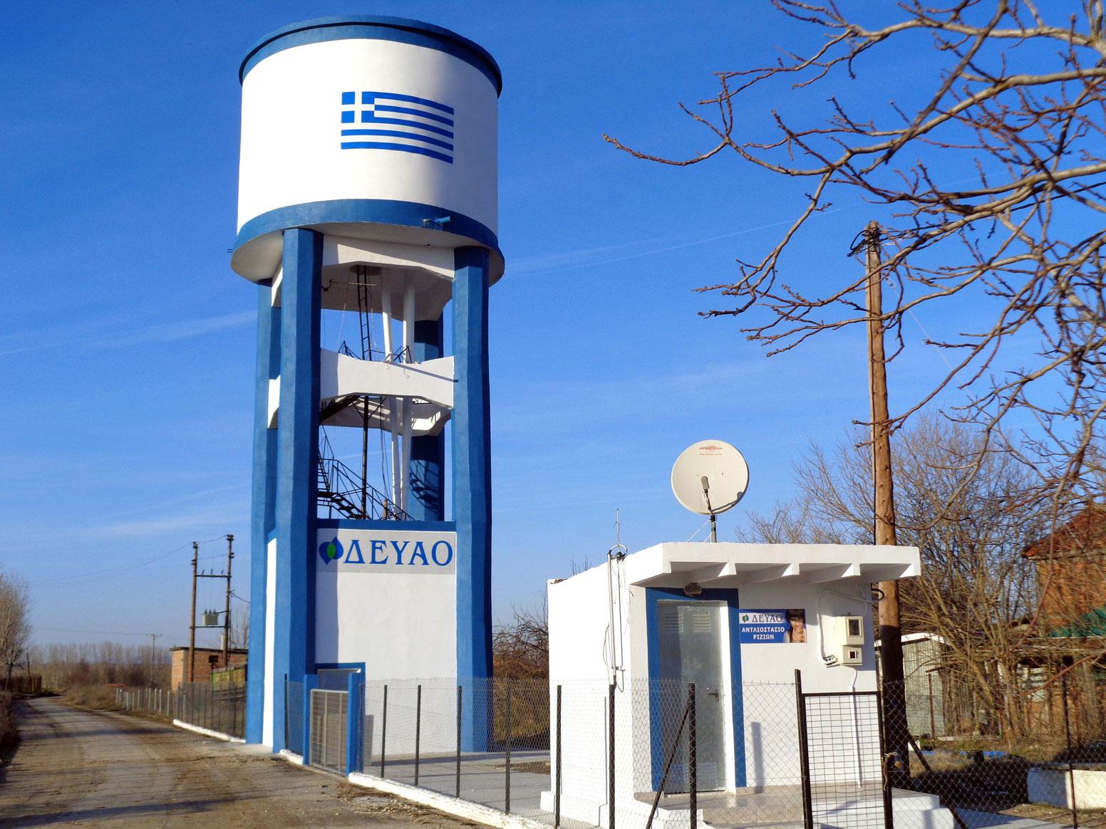 Υδατόπυργος Ριζίων – 2017